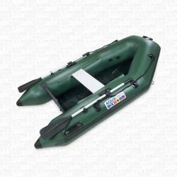 Bateau pneumatique annexe RIB230 pro (plancher latté) VERT