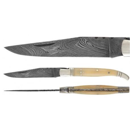 DAMAS - Couteau 12 cm - os
