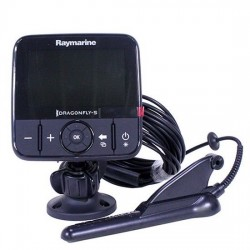 Combiné Sondeur GPS Dragonfly 5 PRO CHIRP et Downvision Raymarine