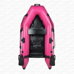 Bateau pneumatique annexe RIB230 pro (plancher latté) ROSE