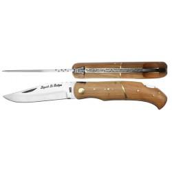 Couteau Laguiole 11,5 cm - teck