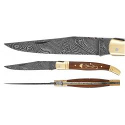 DAMAS - Couteau 10 cm - palissandre