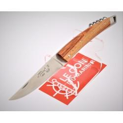Couteau Le Thiers Milord avec Tire bouchon en bois de rose